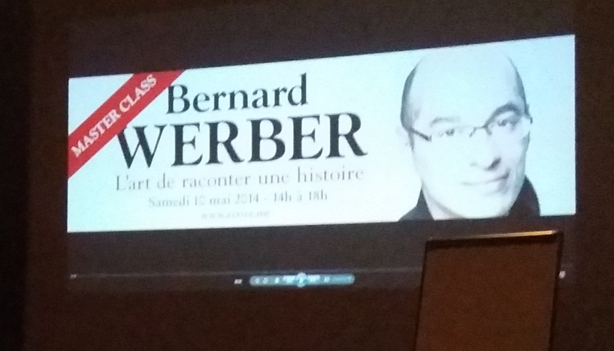 La master class de Bernard Werber : l'art de raconter une histoire