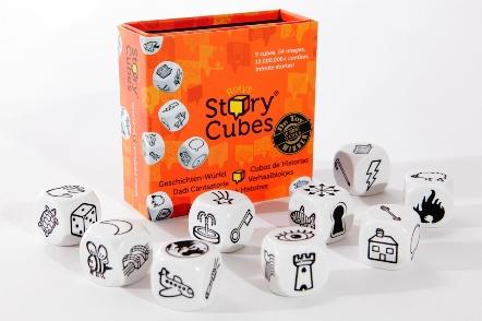 Les story cubes stimulent votre imagination !