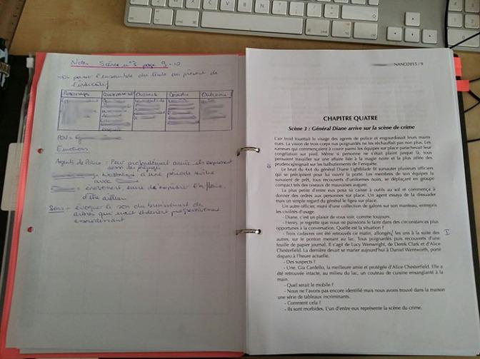 Manuscript revision checkpoint n°1