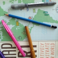 Sketchbook Skool new class Let's Make a Map